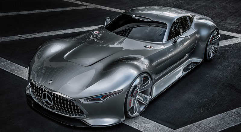 The Mercedes Benz Vision GT - available only in Gran Turismo 6.