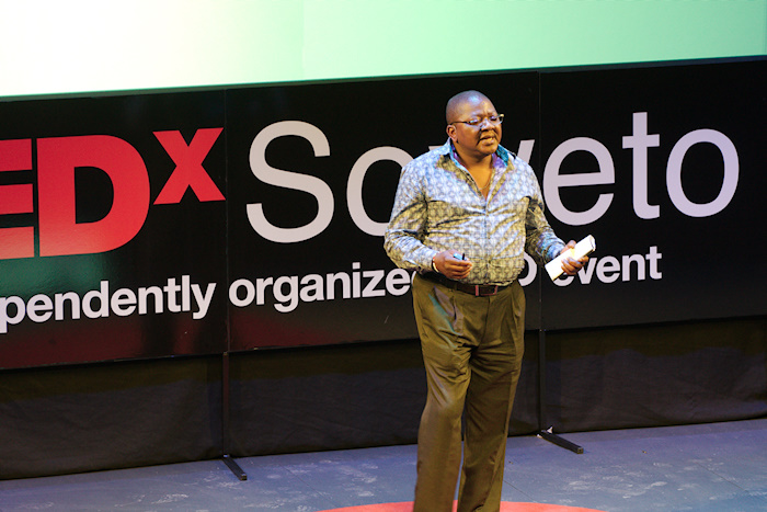 "Malizole ""Banks"" Gwaxula from the Ubuntu Education Fund at TEDxSoweto 2013"