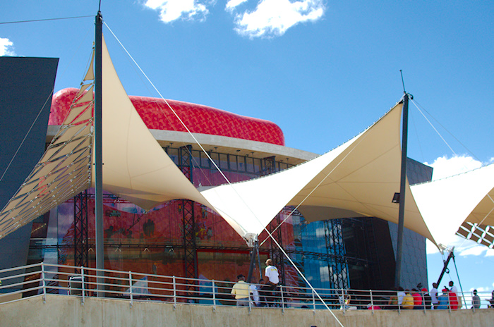 The Soweto Theatre - a striking and awesome location for TEDxSoweto