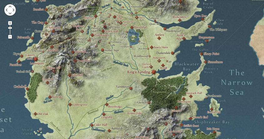 Map Monday Westeros Arrives On Google Maps Sort Of Htxt Africa