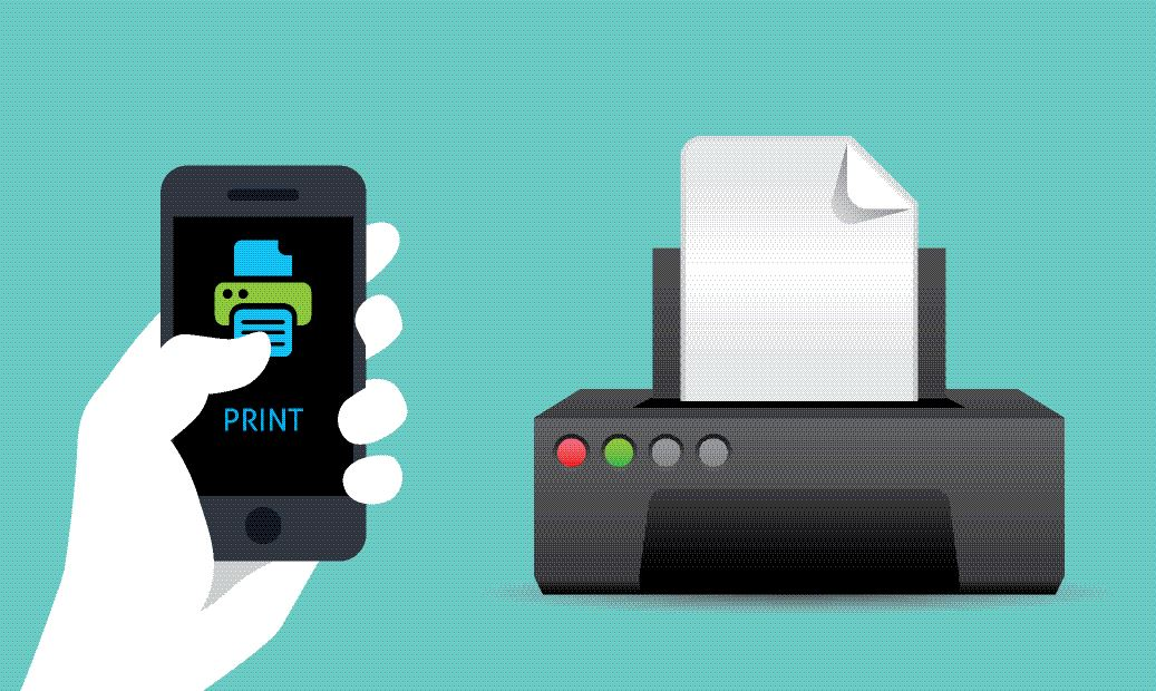 How to print from your mobile phone