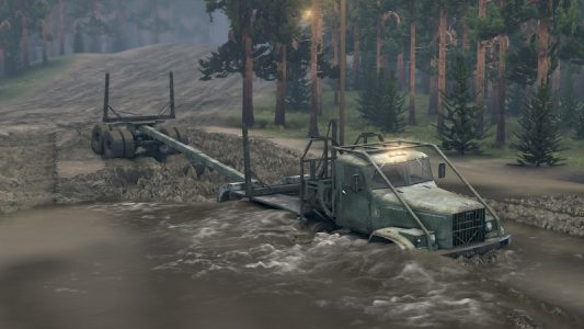 Yes, the water does damage your truck.
