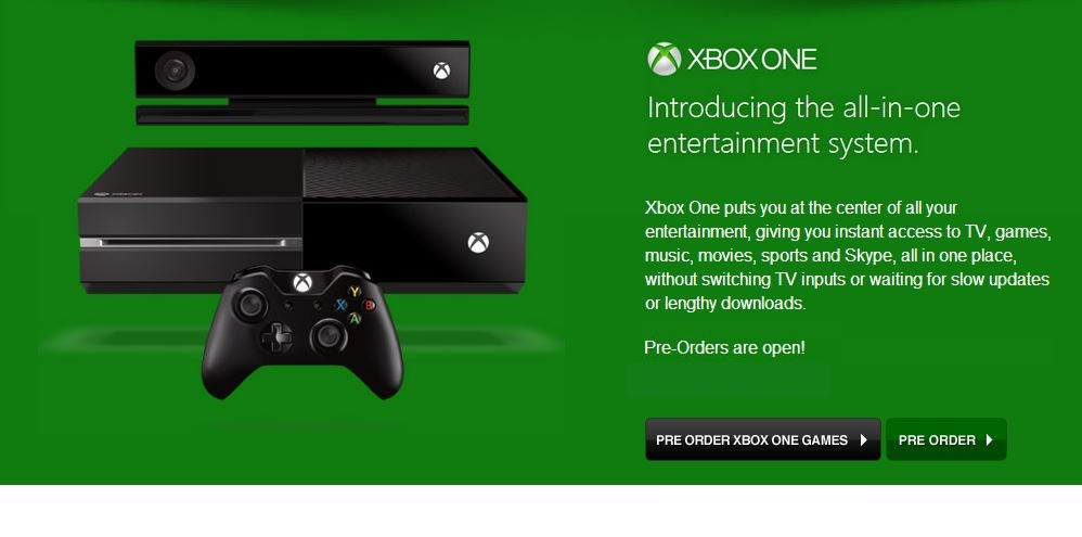 Pre-order your Xbox One bundles from today - htxt africa