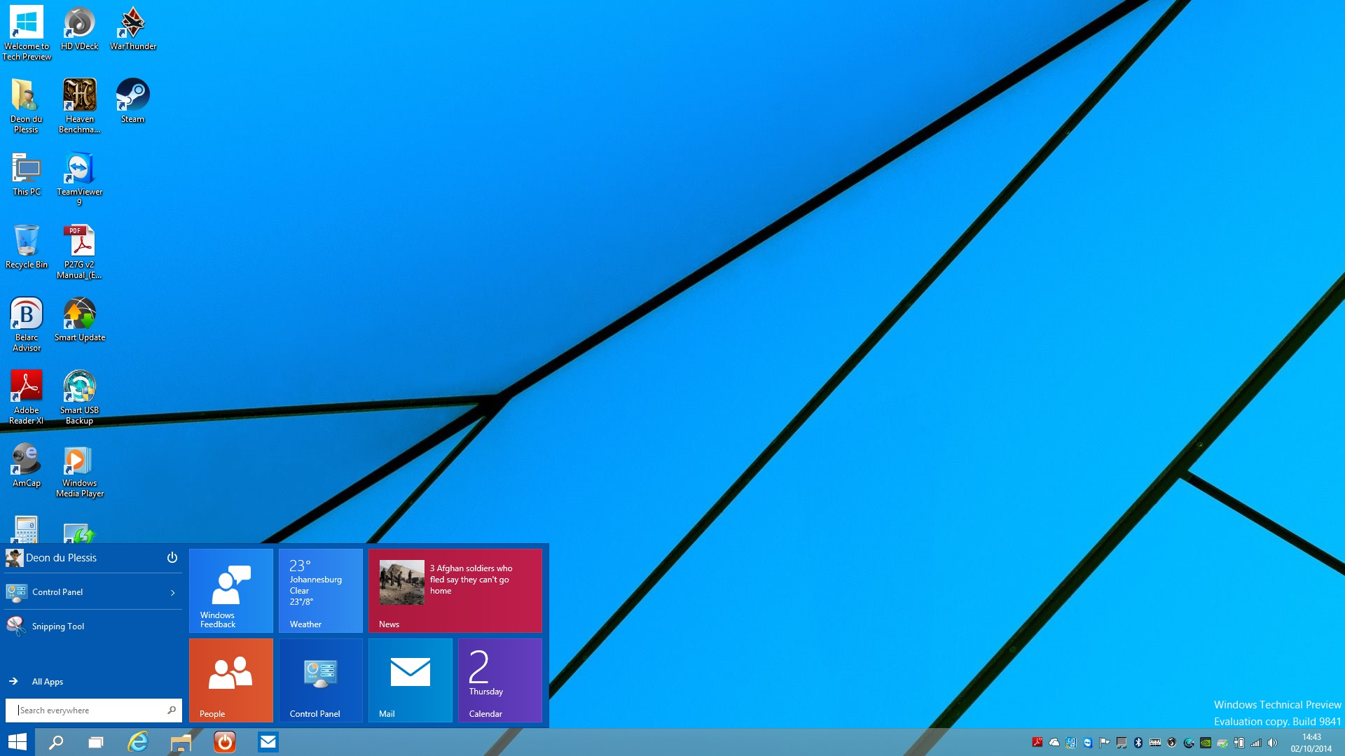 HANDS-ON] Getting started with Windows 10 - htxt africa