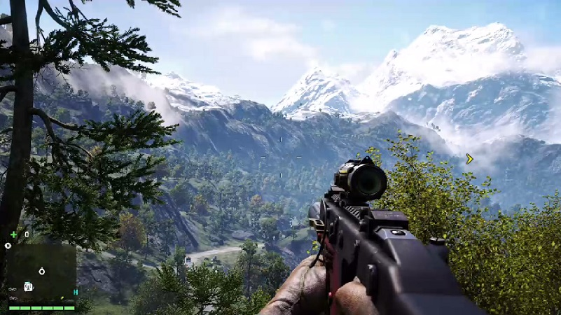 Far Cry 4 view