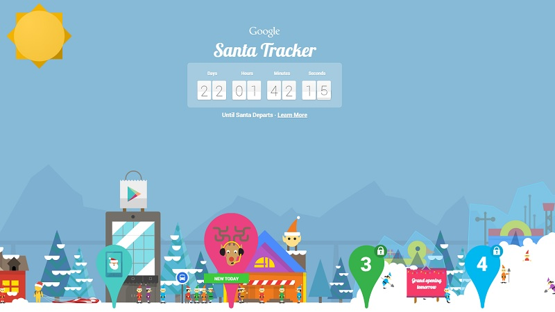 christmas countdown begins with traditional online trackers