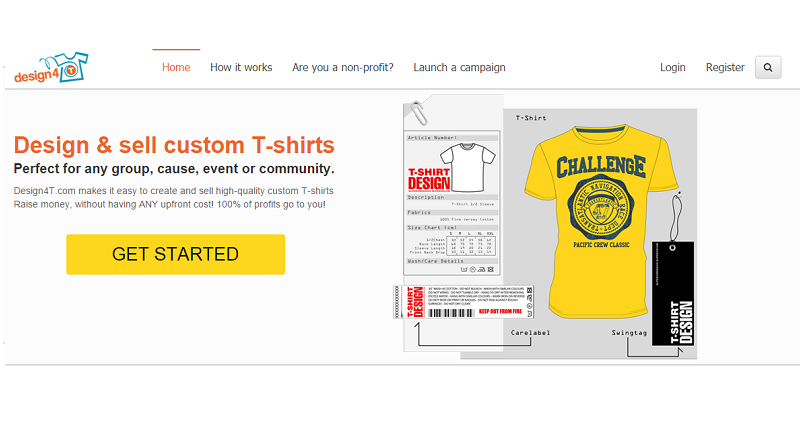 Create Your Own Unique T Shirt And Sell It Online On