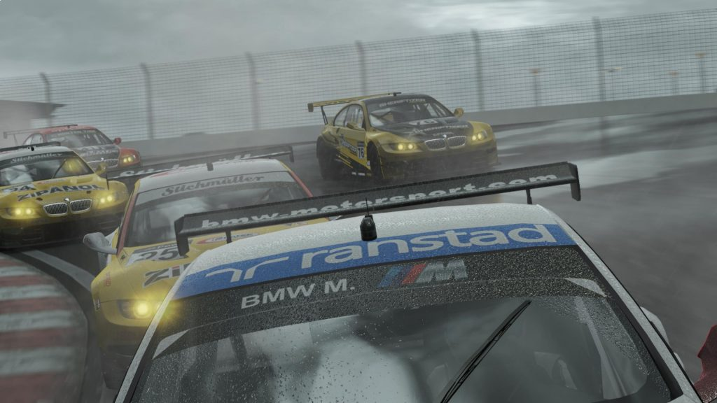 Project CARS - Driving in rain