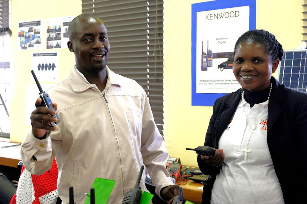 Khanda's founders at the launch of 67 Days of Digital Activism in Diepsloot.