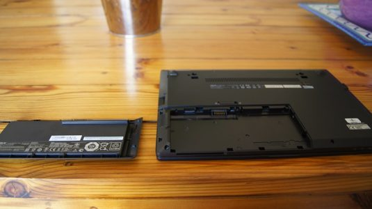 The small sized battery means carrying a replacement around isn't too much of a hassle.