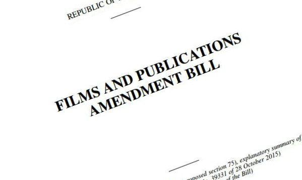 The Film & Publications Board Act Amendment Bill 2015