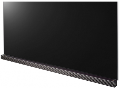 According to CES attendees the panel on this TV is as thin as four credit cards.
