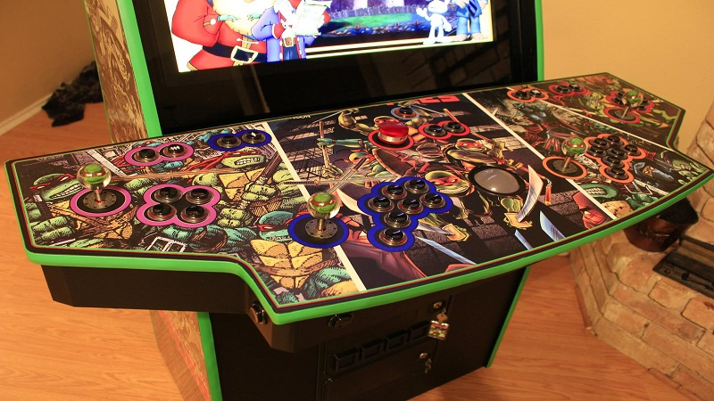 This custom TMNT arcade cabinet is all kinds of radical - htxt africa