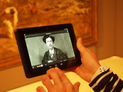 Scanning different sections of the painting provided us with extra information.