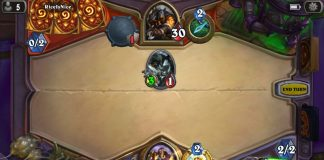 Hearthstone on iPhone