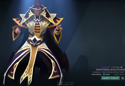 Invoker items are as beautiful as they are expensive.