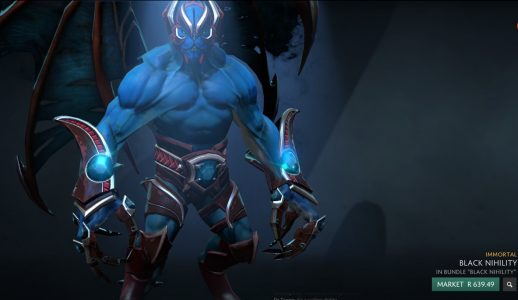 The first, and only Nightstalker cosmetic set used to fetch below R100, now its worth about R600.