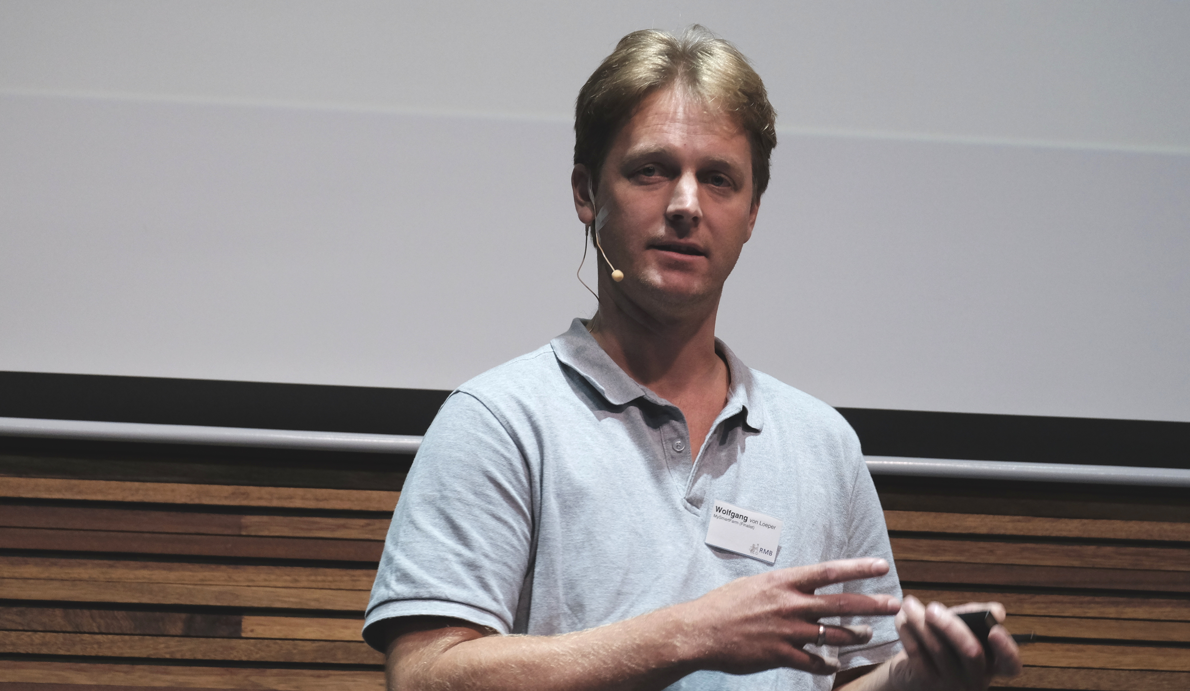 Wolfgang von Loeper, collides big data and small farmers for fun and profit.