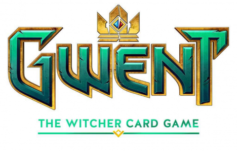 The trademarked logo for what could be a standalone Witcher card game.