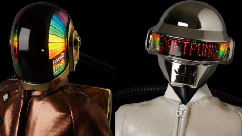 Get lucky with these Daft Punk figurines feat  light-up