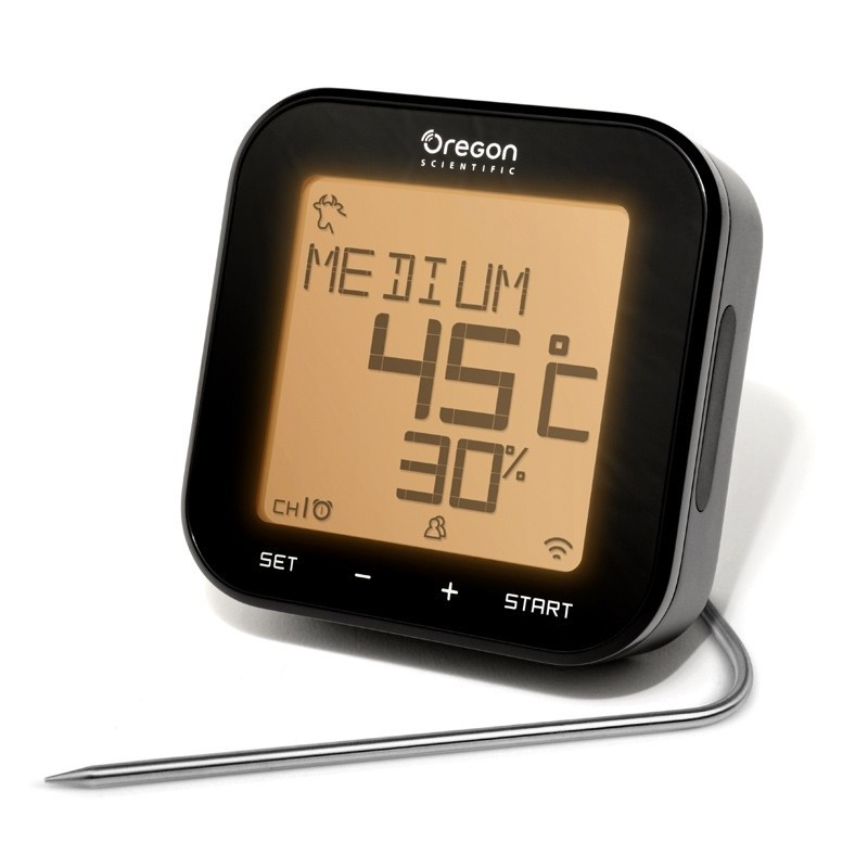 Oregon Grill Right Bluetooth Thermometer 1