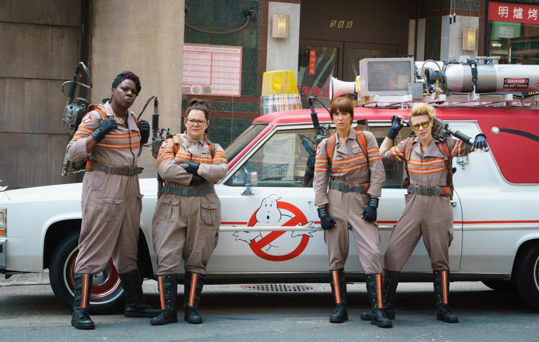 The new Ghostbusters has received a mixed reception from critics