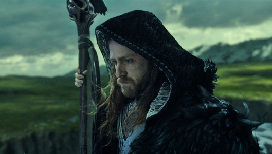 Ben Foster as Medivh in the Warcraft movie.