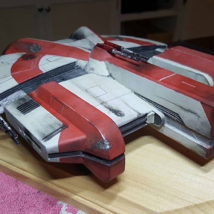3D Printed Ebon Hawk Star Wars KOTOR 1