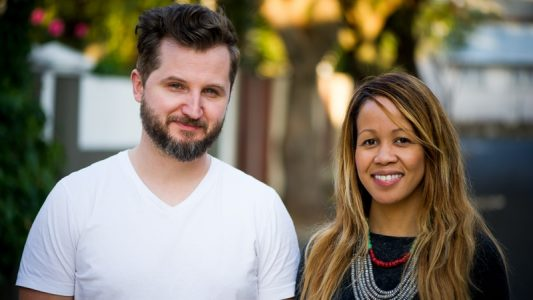 SweepSouth Founders Alen Ribic (left) and Aisha Pandor (right)
