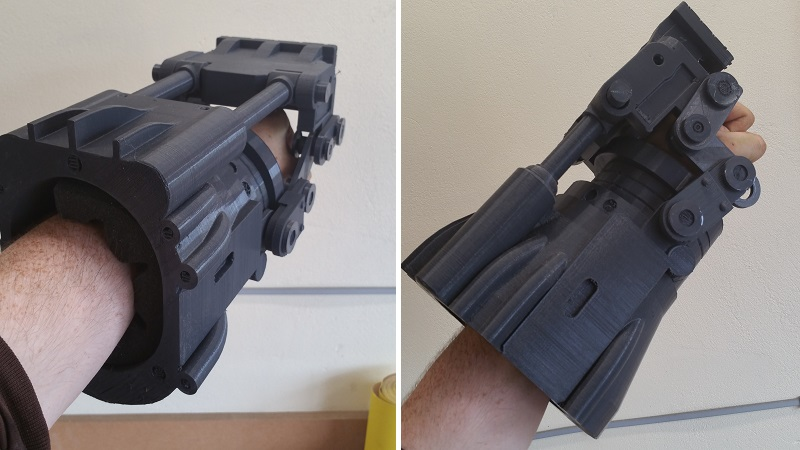 the power fist from fallout 3 as a 3d print htxt africa
