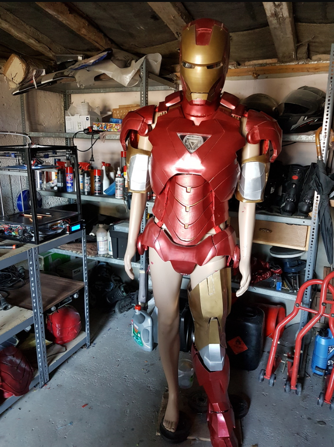 3d printed iron man suit pic 5 for Maison d iron man
