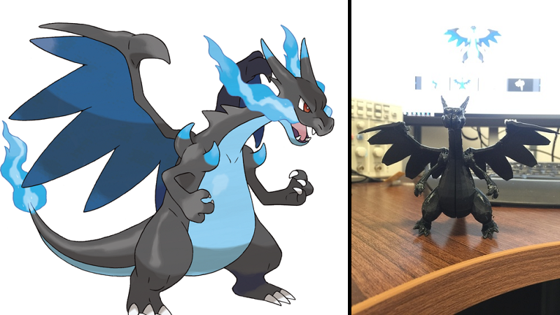 mega charizard is both a dragon type and a 3d print htxt africa