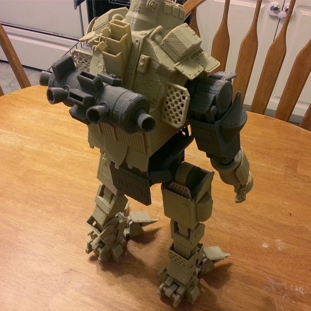 Titanfall Atlas Mech 3d Printed Pic 8 on Latest Javascript Write To Console