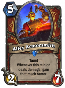 Just what warriors needed, more armour.