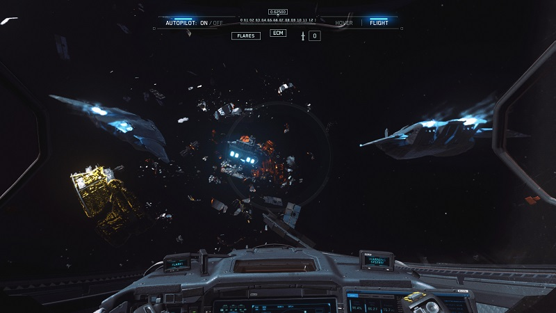 Call Of Duty Infinite Warfare Review Great Wing Commander Game