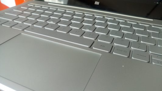 The keyboard is incredibly comfortable and it lights up when you start typing. The touch pad also support multi-touch.