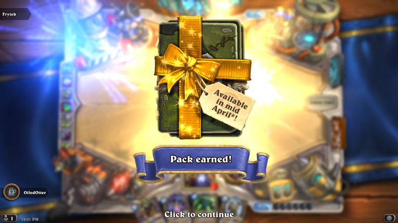 Hearthstone's card pack system is changing