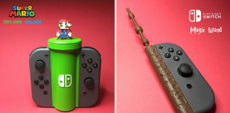 Nintendo Switch 3D Printed Accessory Header Image 4
