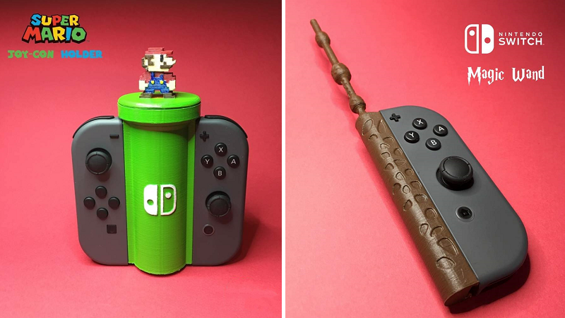 Ten more 3D printed Nintendo Switch accessories - htxt africa