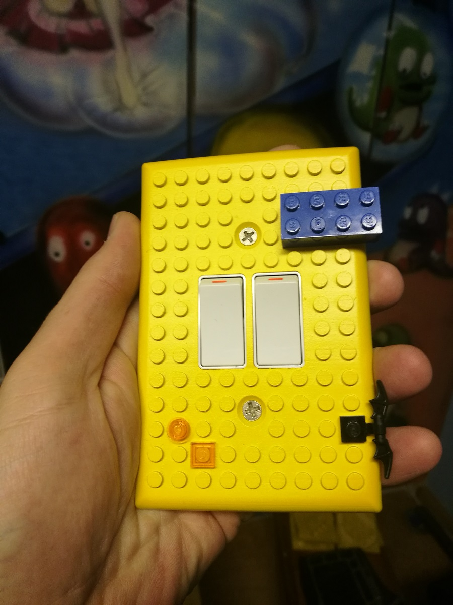Cover your light switches with this LEGO 3D print - htxt africa