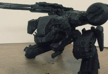 Metal Gear Solid REX 3D Print Header Image