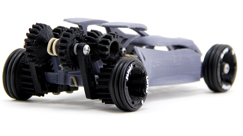 Pull back toy cars are another thing you can 3D print - htxt africa