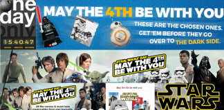 Star Wars Day May the 4th South Africa Sales