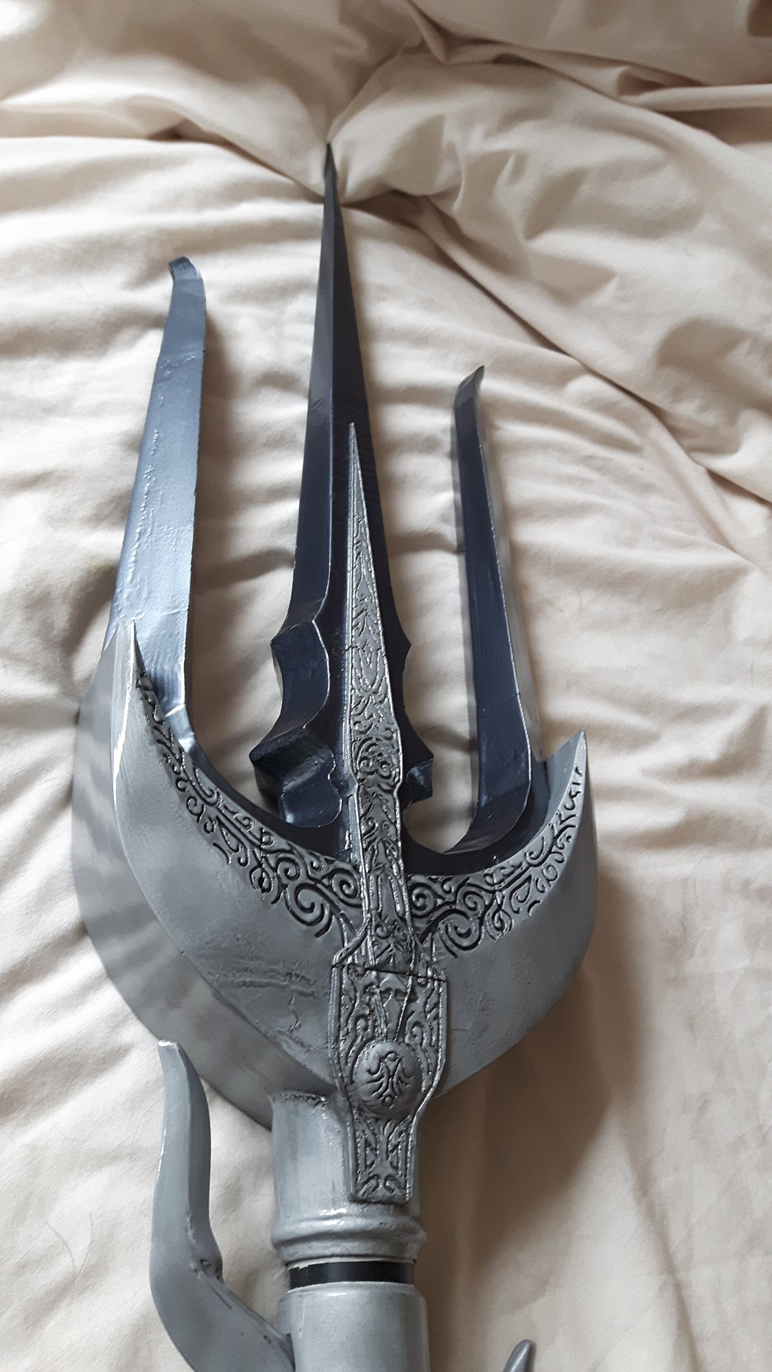3D Printed Trident of the Oracle from Final Fantasy XV is two metres