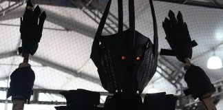 Animatronic Sauron The Lord of the Rings Arduino Header Image htxt.africa 2