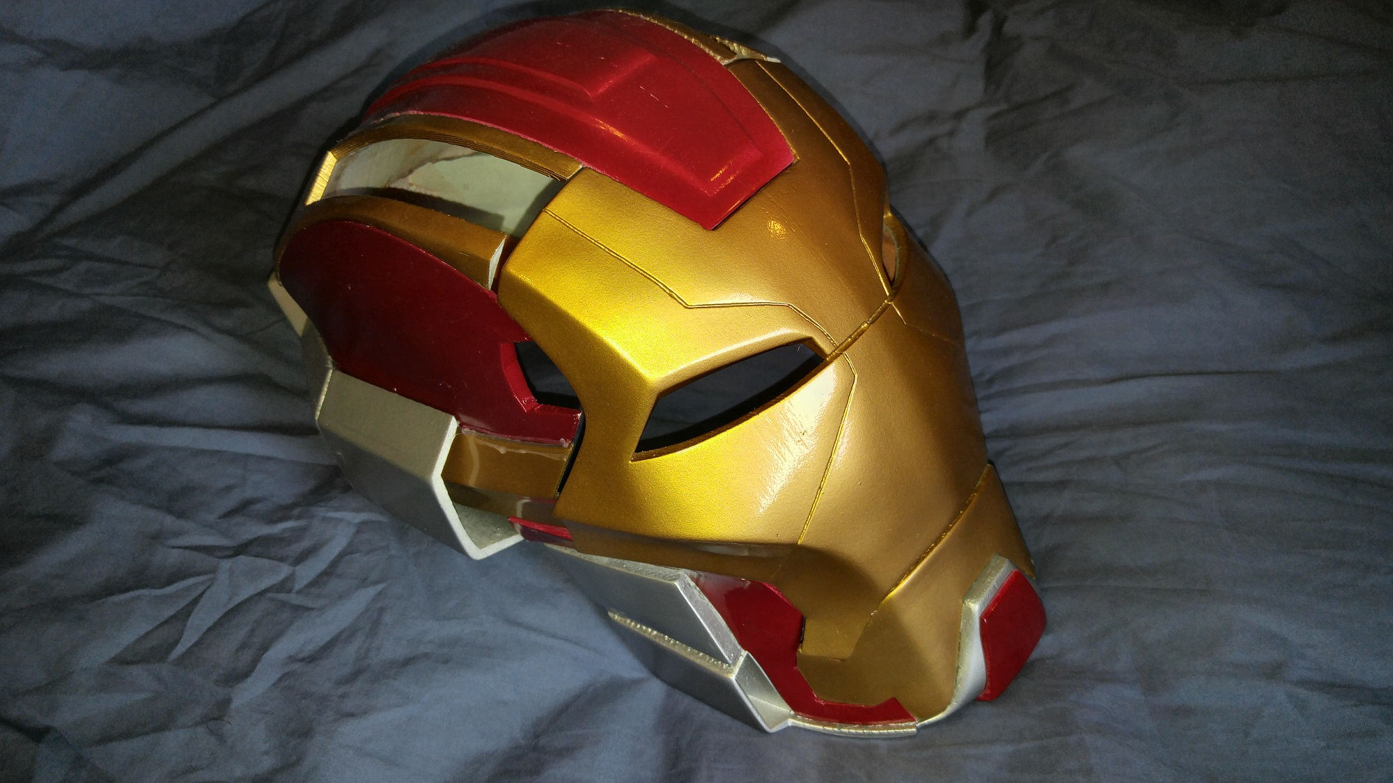 Be a Heartbreaker with this 3D printed Iron Man helmet