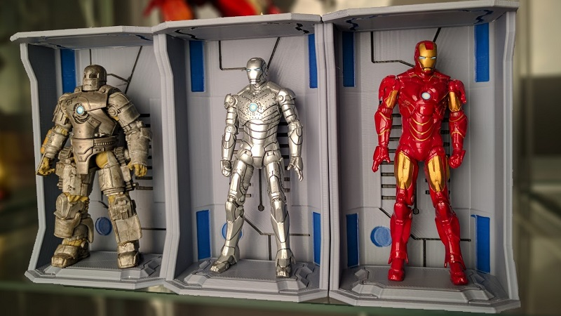 3D Print Iron Man's Hall of Armours to house all your