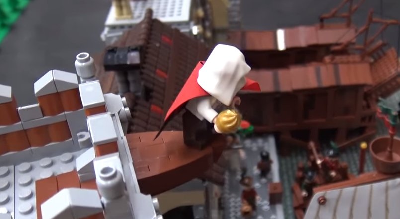 Assassin S Creed Comes To Lego In This Fan Creation Htxt Africa