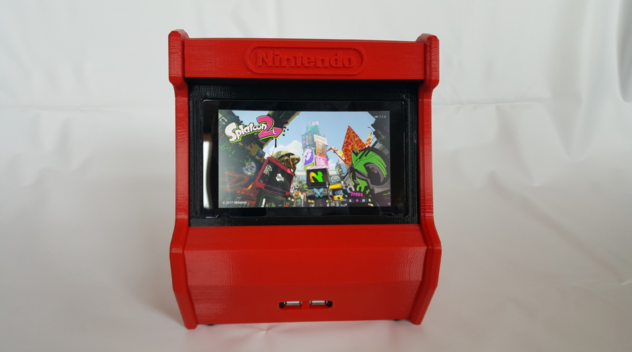 Nintendo Switch 3d Printed Arcade Cabinet Pic 4 Htxt Africa