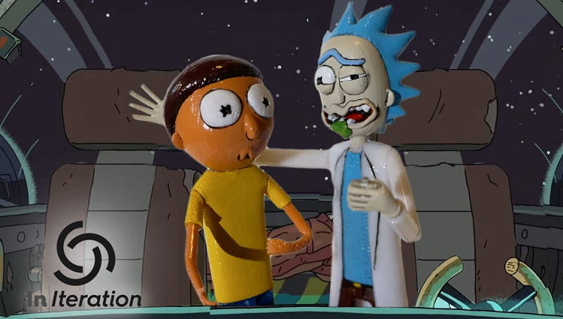Rick and Morty Action Figure 3D Prints header image 1
